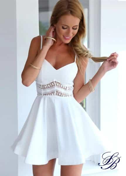 Robe Blanche Danse et Patineuse Courte Robe Blanche Courte Femme Robe Blanche Soirée Blanche
