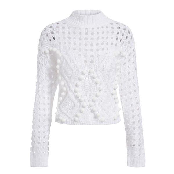 Suprême Pull Blanc Pull Blanc Femme Haut Blanc Soirée Blanche