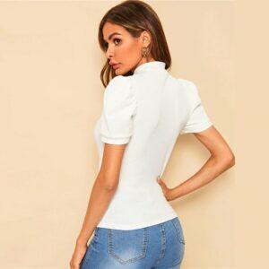 Tee Shirt Blanc Femme Tee Shirt Blanc Femme Haut Blanc Soirée Blanche