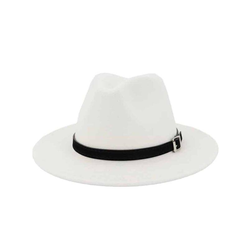Chapeau Blanc Panama Chapeau Blanc Accessoires Blancs Soirée Blanche
