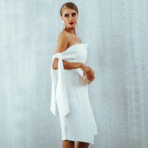 Robe Blanche Courte Bustier Robe Blanche Courte Femme Robe Blanche Robe Blanche Cocktail Soirée Blanche