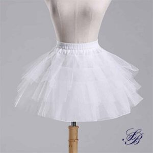 Jupon Pour Robe Blanche Jupe Blanche Fille Femme Robe Blanche Soirée Blanche