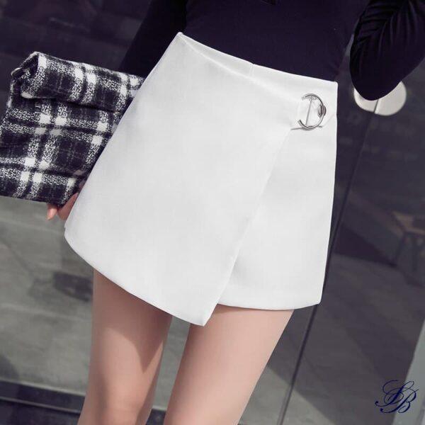 Tailleur Short Blanc Chic Short Blanc Femme Soirée Blanche