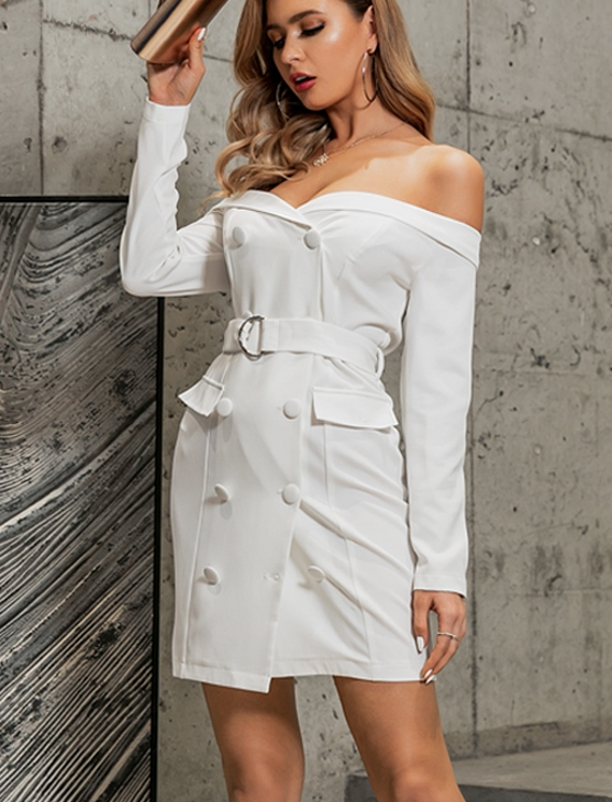 Robe Blanche Bustier Chic Femme Robe Blanche Robe Blanche Cocktail a7796c561c033735a2eb6c: Blanc  Soirée Blanche