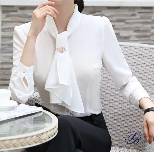 Chemisier Blanc Chic Chemisier Blanc Femme Haut Blanc Soirée Blanche