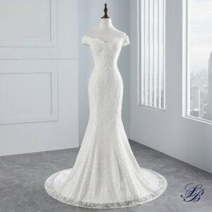 Robe Blanche Longue de Cérémonie de Mariage Robe de Mariage Blanche Femme Robe Blanche Soirée Blanche