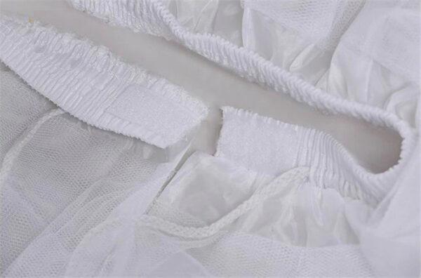 Jupon Pour Robe Blanche Jupe Blanche Fille Femme Robe Blanche Soirée Blanche