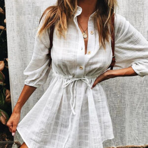 Robe Blanche Bohème Style Hippie Robe Blanche Bohème Femme Chemisier Blanc Robe Blanche Soirée Blanche