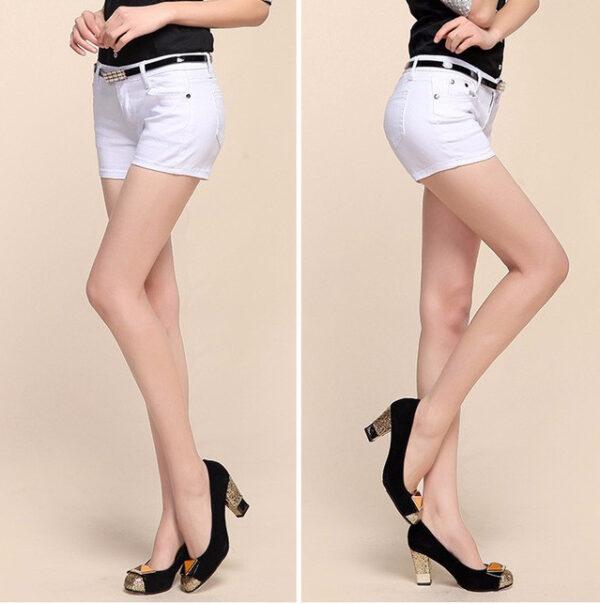 Short Blanc Femme Short Blanc Femme Bas Blanc Soirée Blanche