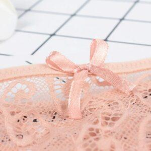Culotte Blanche Dentelle Sous-Vêtement Blanc Femme Lingerie Blanche Soirée Blanche