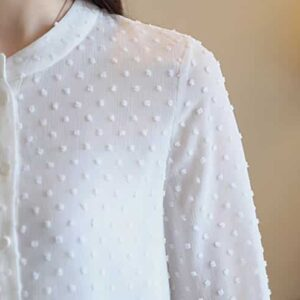 Chemise Blanche Sexy Chemise Blanche Femme Haut Blanc Soirée Blanche