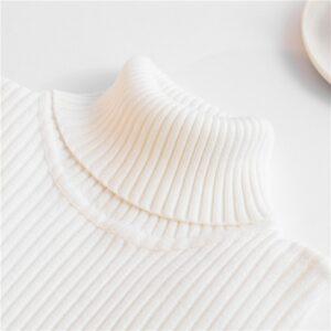 Sous Pull Blanc Col Roulé Femme Pull Blanc Femme Haut Blanc Soirée Blanche