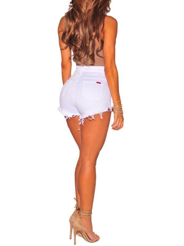 Mini Short Blanc Femme Short Blanc Femme Bas Blanc Soirée Blanche