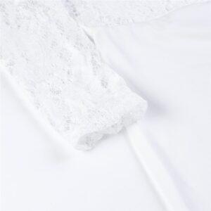 Combishort Dentelle Blanche Combishort Blanc Femme Ensemble Blanc Soirée Blanche