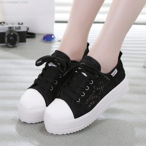 Chaussure Blanche Dentelle Chaussures Blanches Femme Soirée Blanche