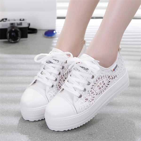 Chaussure Blanche Dentelle Femme Chaussures Blanches Couleur: Blanc Taille de chaussure: 42 Soirée Blanche
