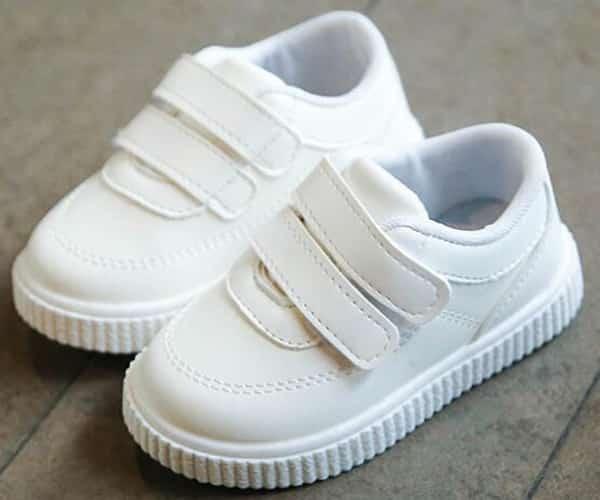 Chaussure Blanche Cérémonie Garçon Garçon Enfant Soirée Blanche