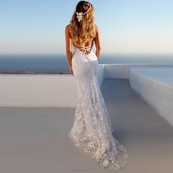 Robe Longue Blanche Bohême Robe Blanche Longue Femme Robe Blanche Soirée Blanche