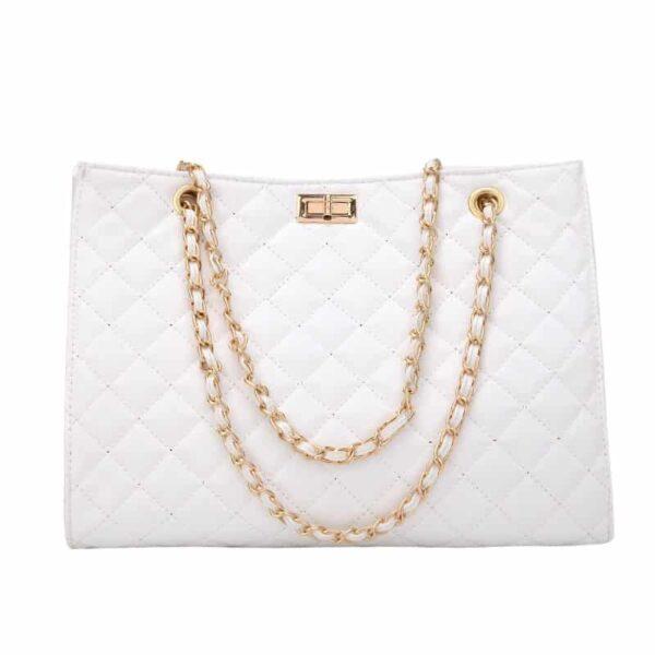 Sac à Main Blanc Sac Blanc Accessoires Blancs Soirée Blanche