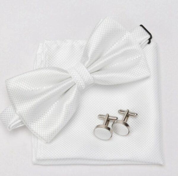 Nœud Papillon Blanc Accessoires Blancs Soirée Blanche