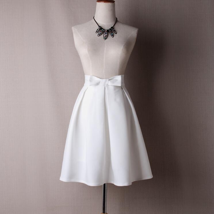 Jupe Blanche Longue Femme Jupe Blanche Couleur: Blanc Taille: XXL Soirée Blanche