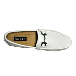 Mocassin Blanc Homme Chaussures Blanches Homme Soirée Blanche