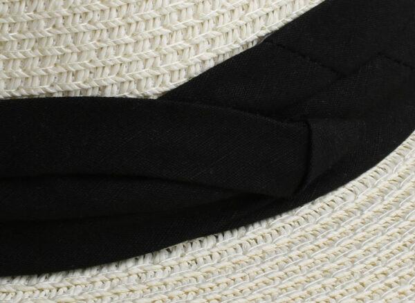 Chapeau Blanc Paille Chapeau Blanc Accessoires Blancs Soirée Blanche