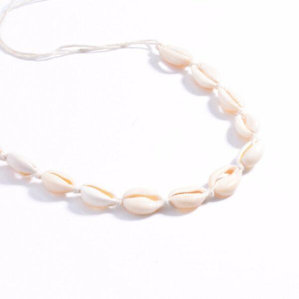 Collier Corail Blanc Bijou Blanc Accessoires Blancs Soirée Blanche