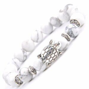 Bracelet Nature Blanc Bijou Blanc Accessoires Blancs Soirée Blanche