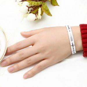 Bracelet Céramique Blanc Bijou Blanc Accessoires Blancs Soirée Blanche