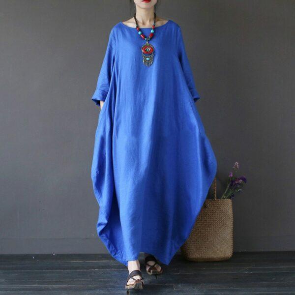 Robe Blanche Longue Ample Robe Blanche Longue Robe Blanche Bohème Soirée Blanche