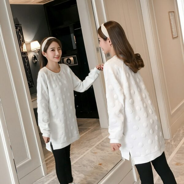 Robe Blanche Grossesse Hiver Robe Blanche Femme Enceinte Robe Blanche Soirée Blanche