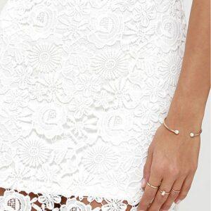 Robe Blanche Courte de Soirée Robe de Soirée Blanche Femme Robe Blanche Soirée Blanche