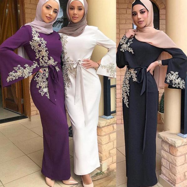 Robe Blanche Longue Marocaine Robe Blanche Longue Femme Robe Blanche Soirée Blanche