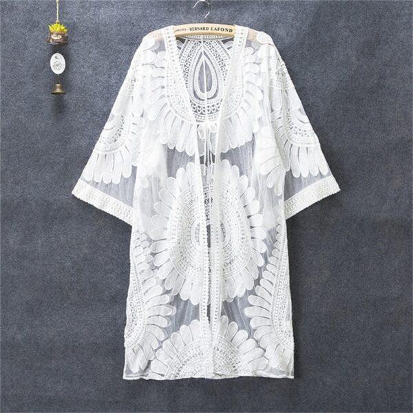Robe Blanche de Plage Robe Blanche Bohème Femme Robe Blanche Soirée Blanche