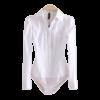 Chemise Blanche Body Femme Chemise Blanche Femme Haut Blanc Soirée Blanche