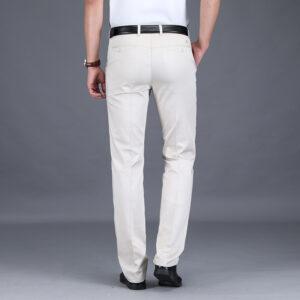 Pantalon Blanc Homme à Pinces Pantalon Blanc Homme Bas Blanc Soirée Blanche