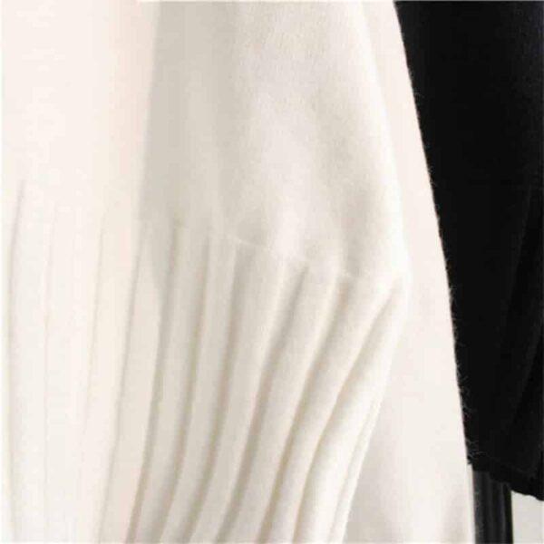 Pull Blanc Col Roulé Femme Pull Blanc Femme Haut Blanc Soirée Blanche