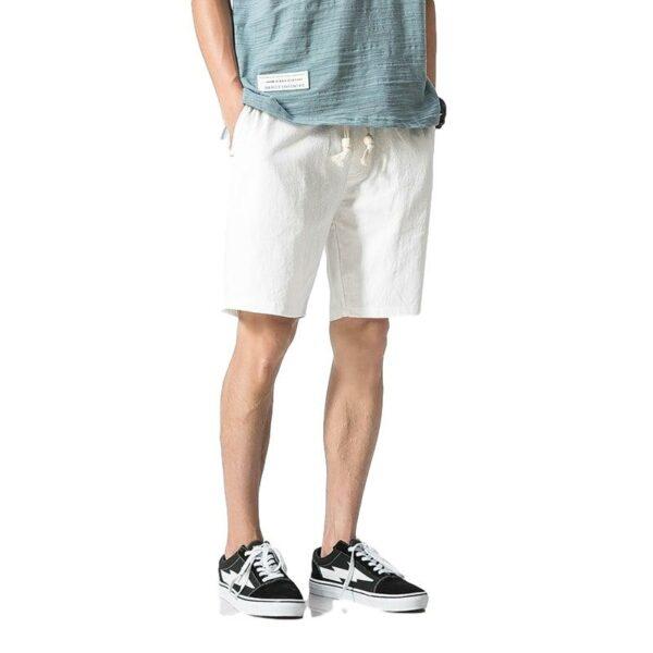 Short Blanc Lin Homme Short Blanc Homme Bas Blanc Soirée Blanche