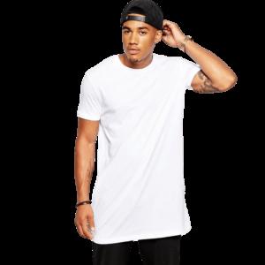Tee Shirt Long Homme Blanc Tee Shirt Blanc Homme Haut Blanc Soirée Blanche