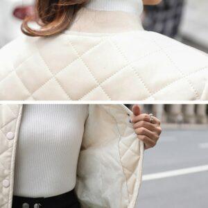 Veste Chaude Blanche Femme Veste Blanche Femme Haut Blanc Manteau Blanc Soirée Blanche