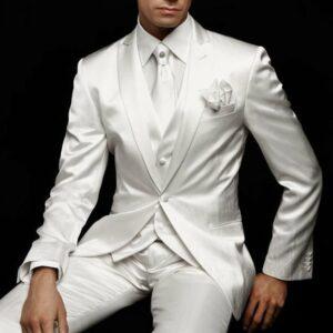 Costume Blanc Homme Mariage Homme Costume Blanc a7796c561c033735a2eb6c: Blanc|Bleu royal|Bourgogne|Gris|Marine Bleu|Noir|Rouge Soirée Blanche