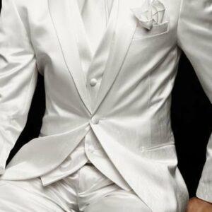Costume Blanc Homme Mariage Homme Costume Blanc Soirée Blanche
