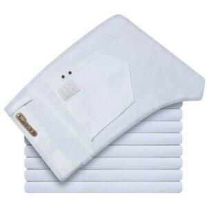 Jean Homme Blanc Pantalon Blanc Homme Bas Blanc Soirée Blanche
