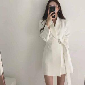 Manteau Blanc Chic Manteau Blanc Femme Haut Blanc Soirée Blanche