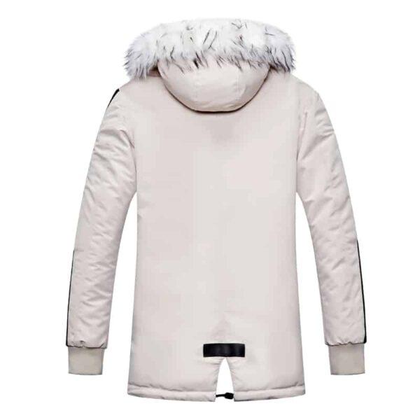 Manteau Fourrure Homme Noir Et Blanc Manteau Blanc Homme Haut Blanc Soirée Blanche