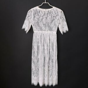 Robe Blanche Été Mi Longue Robe Blanche Longue Femme Robe Blanche Soirée Blanche