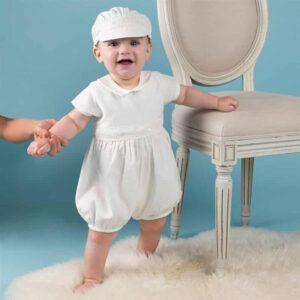 Ensemble Blanc Bébé Garçon Baptême Garçon Enfant Soirée Blanche