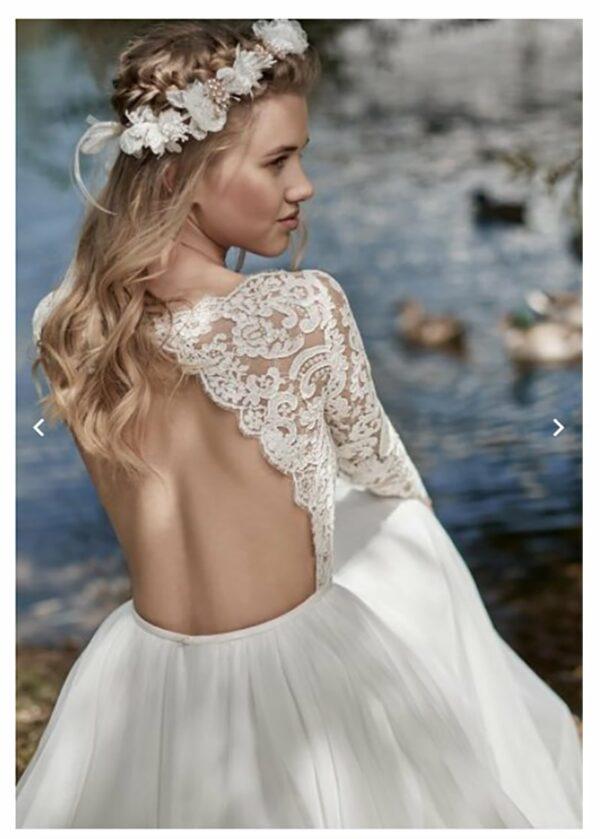 Robe De Mariage Champetre Blanche Soiree Blanche