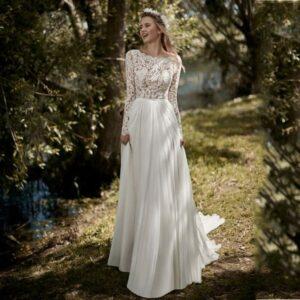 Robe De Mariage Champêtre Blanche | Soiré